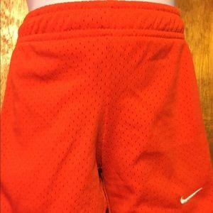 Girls Orange Nike shorts in size 3T